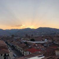 cusco+sunset